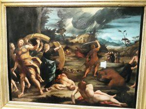 Il martirio di Santa Caterina - Anonimo Emiliano XVI sec.